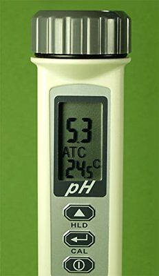 High Quality Waterproof pH+Temperature Meter Tester (ATC) with Large LCD Screen