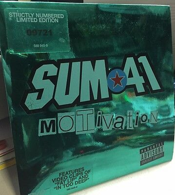 ♫♪♫SUM 41 - Motivation  - DVDs NUMERATO   MINT !!