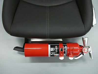 Rennline 997/987/cayman W/o Sport Adapt Or Vent Seat Fire Extinguisher Mount Sil