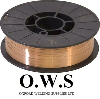 Copper Coated Mig Wire A18 0.8mm - 0.7kg, 5kg, 15kg Mild Steel GREAT VALUE