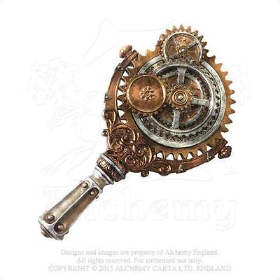 Hand Mirror Lady Talbots Retrospector By Alchemy The Vault Steampunk New Boxed