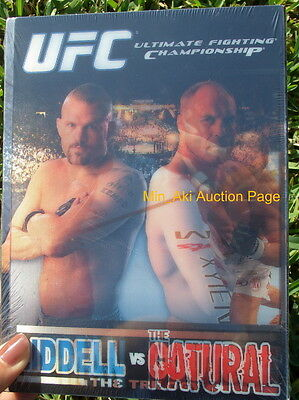 UFC Liddell & Couture: The Trilogy (DVD, 2007, 4-Disc Set) Unopened FreeShipping