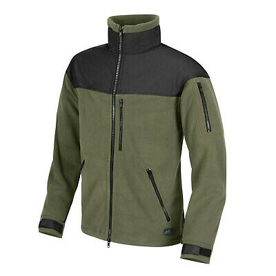Helikon Tex Classic Army Fleece Jacket oliv schwarz Olive Black Outdoor Jacke
