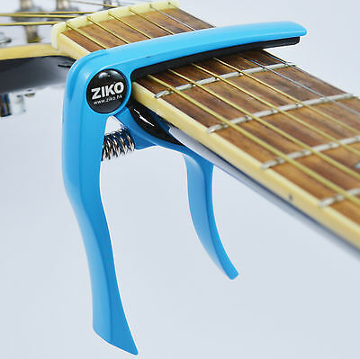 Capo – Quick Trigger Release for Acoustic & Electric Guitar and Ukulele - Blue