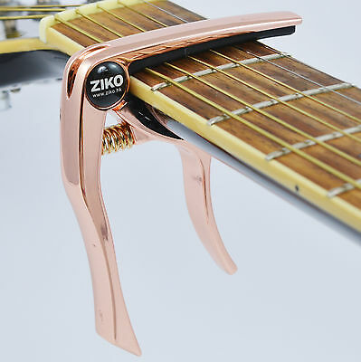 Capo – Quick Trigger Release for Acoustic & Electric Guitar and Ukulele - Rose