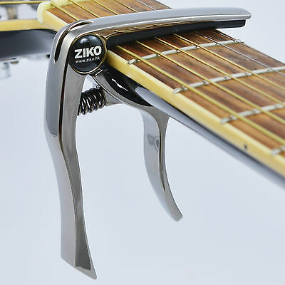 Capo – Quick Trigger Release for Acoustic & Electric Guitar / Ukulele - Tungsten