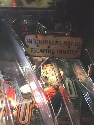 Hitchhiker Sign MOD for Stern's The Walking Dead pinball machine - BRAND NEW
