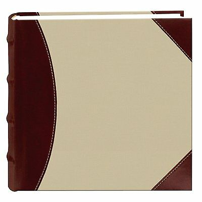 New Pioneer 300 Photo Album 4x6 Photos Sewn Fabric and Leatherette Cover