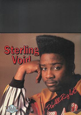 STERLING VOID - it's all right LP
