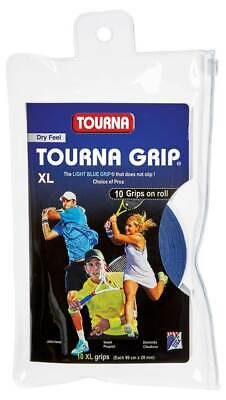 Tourna Grip XL Dry Feel Overgrip (Pack of 10)