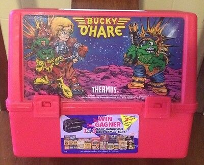 Retro 1991 Bucky O'Hare Lunch Box Rare