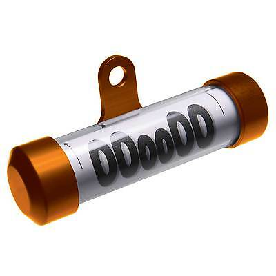 Oxford Motorcycle / Motorbike Taxband Tax Disc Holder / Tube In Orange