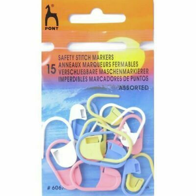 Pony Assorted Safety Stitch Markers