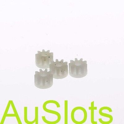 Scalextric W8100 Pinion L7085 White 4 pack