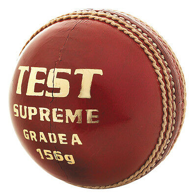 Duncan Fearnley Test Supreme Grade 'a' Adults Cricket Ball - Df154002