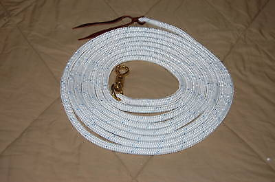 22' Longe Lunge Line Lead Rope W/parelli Twist Snap For Natural Horse Training