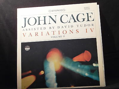 John Cage assisted by David Tudor - Variations IV Volume II