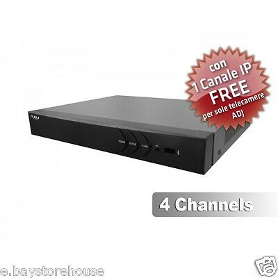 DVR Horizons 2 ADJ H.264 4Canali Video 1Canale Audio WD1 1 CANALE IP FREE