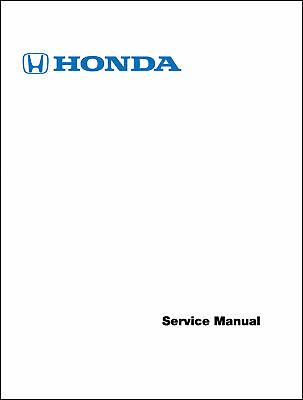 honda 1996 2000 civic electrical troubleshooting manual service shop rh picclick com 99 civic factory service manual 99 civic factory service manual