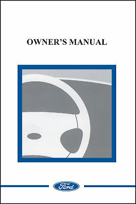 2007 ford taurus owner manual portfolio 07 52 95 picclick rh picclick com Ford F-150 Owner's Manual Ford F-150 Owner's Manual