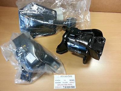 Hyundai Getz 2005-2011 1.4L 1.6L Manual Genuine Brand New Mounts Set