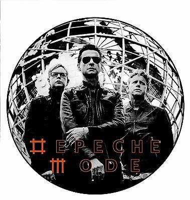 Parche imprimido /Iron on patch, Back patch, Espaldera/- Depeche Mode, D