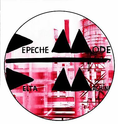 Parche imprimido /Iron on patch, Back patch, Espaldera/- Depeche Mode, E