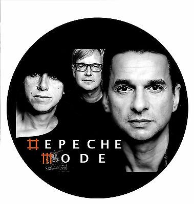Parche imprimido /Iron on patch, Back patch, Espaldera/- Depeche Mode, F