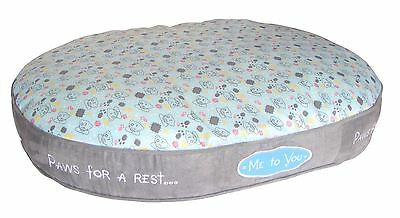 Me to You Oval Pet Bed Super Soft & Small Dogs Cats Pets - Tatty Teddy