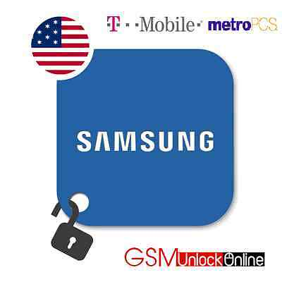 Unlock Code Service For T-Mobile / MetroPCS USA Samsung Galaxy Avant Light S4 S5