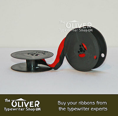 OLYMPIA BLACK AND RED TYPEWRITER RIBBON (SM3,SM4, SM7,SM9 Deluxe models)
