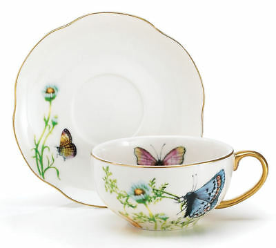 Butterfly Teacup And Saucer Set