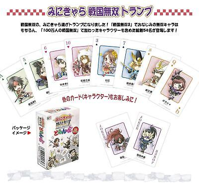 Samurai Warriors Mini Chara Playing Cards