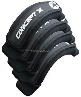 CONCEPT X Footstrap ULTIMATE Black 4er Set Fußschlaufe