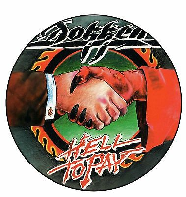 Parche /Iron on patch, Back patch, Espaldera/- Dokken, E