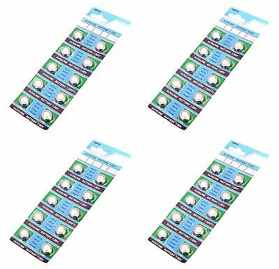 100 PACK Wholesale AG13 LR44 Battery Equivalent to LL54 Watch Batteries Bulk Lot