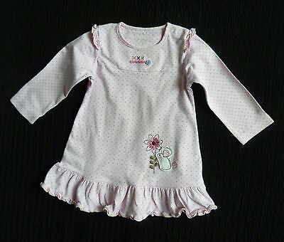 Baby clothes GIRL 3-6m TU pink spot long sleeve dress mouse SEE SHOP COMBINE POS