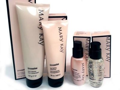~Combo/Oily Skin~NiB~Mary Kay~Timewise Miracle Set~Cleanser Moist Spf Night