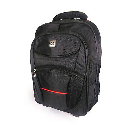 Saron quality cabin wheel carry on luggage trolley backpack 41L light weight