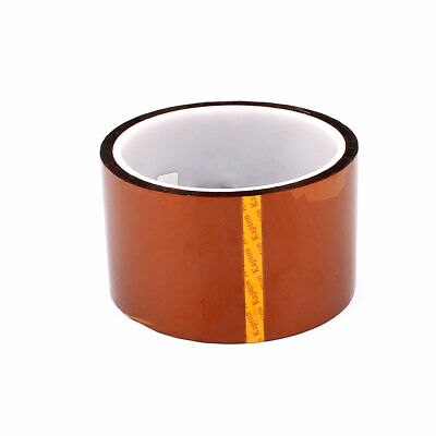 2 Pack Heat Press Tape Rolls 3D Printers Sublimation High Temperature Polyimide