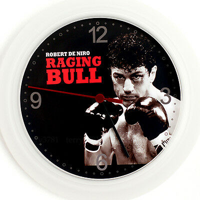 DE NIRO RAGING BULL Wall Clock NEW -24cm Jake Lamotta DVD Movie Design Christmas
