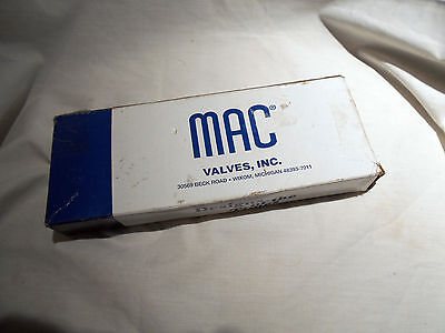 MAC VALVES, 811C-PM-500JA-152 Solenoid Valve 24VDC 6W 150PSI,NEW