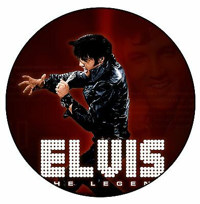 Parche /Iron on patch, Back patch, Espaldera/- Elvis Presley, D