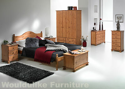 Copenhagen Solid Pine Bedroom Furniture - All Matching furniture Items available