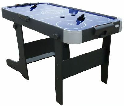 5ft Blue L Foot Air Hockey Table