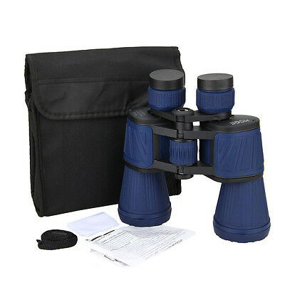 10x50 Binoculars Hunting Camping Zoom Scope Telescope Outdoor Travel Pouch New