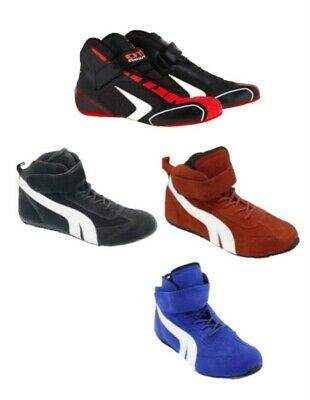 Kart Motorsport Racing Shoes Red- Black-Blue Boots- Offer Price