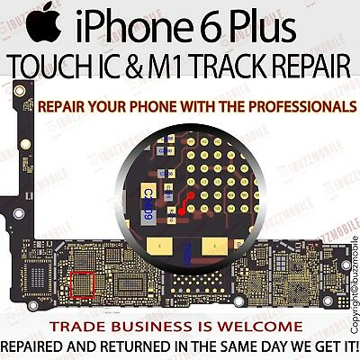 iPhone 6 6+ Plus NO TOUCH TOUCHSCREEN U2402 IC CHIP REPLACEMENT REPAIR SERVICE