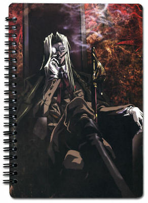Hellsing Ultimate Integra Spiral Notebook