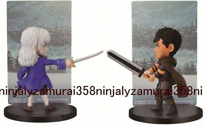 Berserk Guts vs Griffith mini figure set Banpresto anime official Authentic